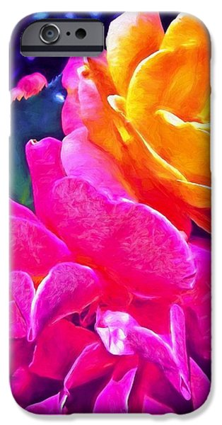 Rose 49 iPhone Case by Pamela Cooper