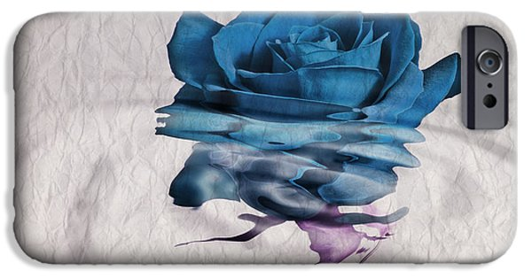 Rose iPhone Cases - Rose en Variation - 02bt01 iPhone Case by Variance Collections
