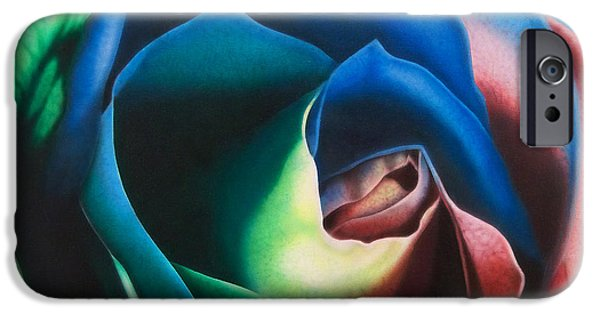 Best Sellers -  - Airbrush iPhone Cases - Rose Hybrid iPhone Case by Michael Wicksted