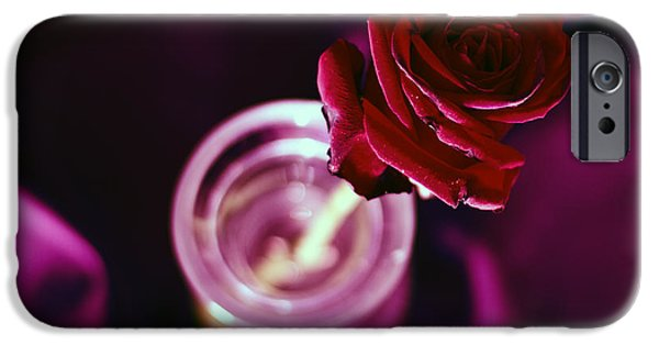 Shower Head iPhone Cases - Rose iPhone Case by Stylianos Kleanthous