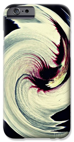 Business Digital iPhone Cases - Rosemallow Twist iPhone Case by Sarah Loft