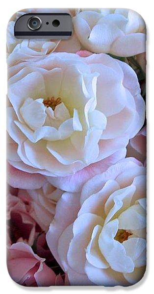 Roses on the Veranda iPhone Case by Carol Groenen