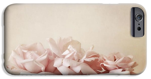 Delicate iPhone Cases - Roses iPhone Case by Priska Wettstein