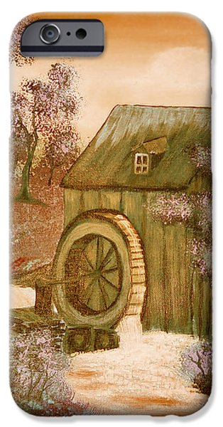 Ross's Watermill iPhone Case by Barbara Griffin
