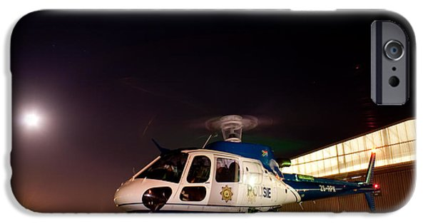 Police Art iPhone Cases - Rotor iPhone Case by Paul Job