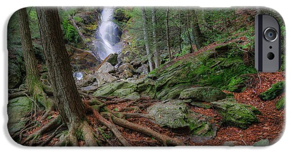 Tree Roots iPhone Cases - Rough Terrain iPhone Case by Bill  Wakeley