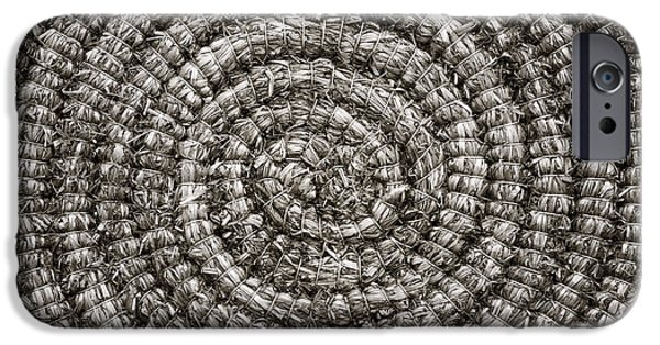Woven iPhone Cases - Round and Round iPhone Case by John Farnan