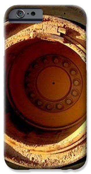 round and round iPhone Case by Marlene Burns