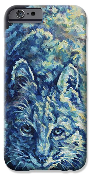 Bob Cats iPhone Cases - Rousseau iPhone Case by Patricia A Griffin