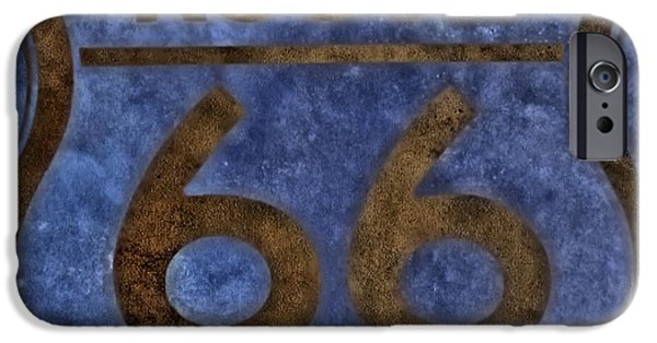 Heading Out iPhone Cases - Route 66 iPhone Case by Dan Sproul