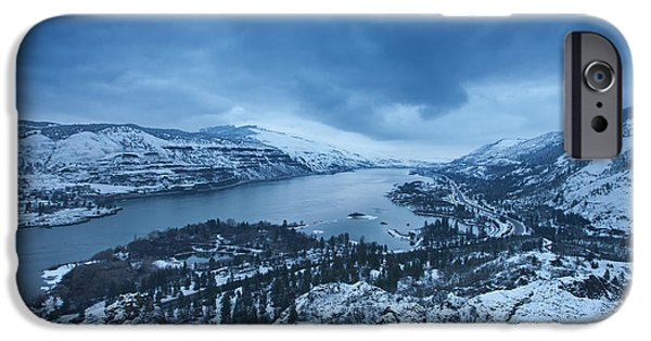 Winter Scene iPhone Cases - Rowena Snow iPhone Case by Darren  White