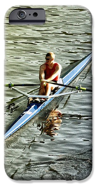 Rowing Crew iPhone Case by Bill Cannon