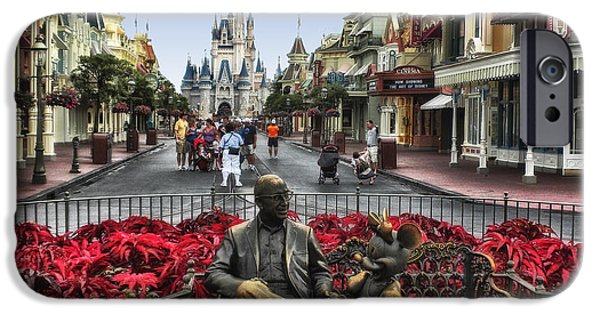 Casey Digital iPhone Cases - Roy and Minnie Mouse Walt Disney World iPhone Case by Thomas Woolworth