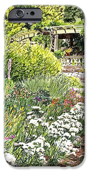 Royal Garden iPhone Case by David Lloyd Glover