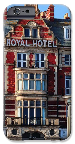 Balcony iPhone Cases - Royal Hotel Entrance iPhone Case by Rumyana Whitcher