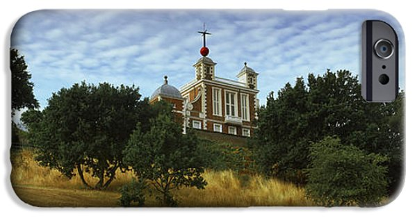 Observation iPhone Cases - Royal Observatory, Greenwich Park iPhone Case by Panoramic Images