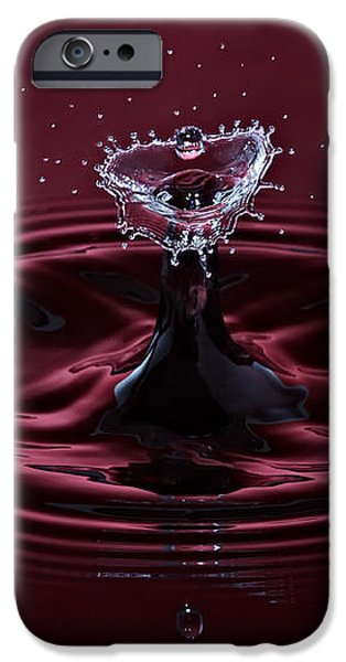 Rubies and Diamonds iPhone Case by Susan Candelario