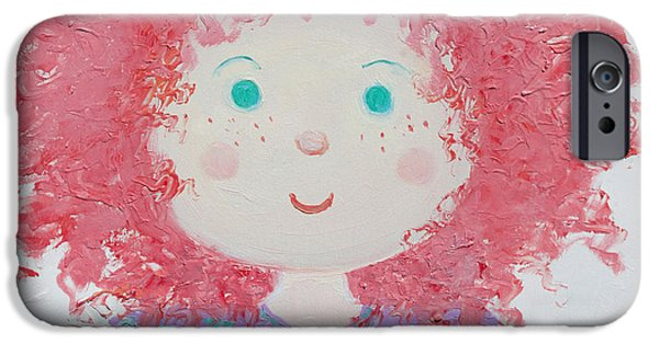 Rag Doll iPhone Cases - Ruby iPhone Case by Jan Matson