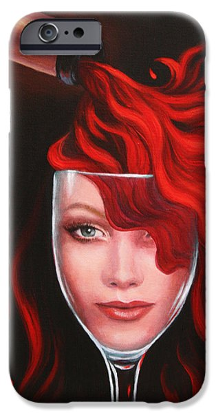Recently Sold -  - Pleasure iPhone Cases - Ruby Red iPhone Case by Sandi Whetzel