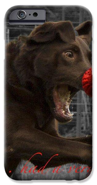 Rudolph iPhone Case by Jean Noren