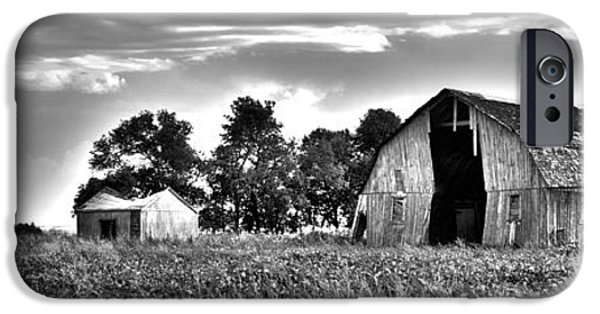 Shed iPhone Cases - Rugged Barn South on 200 iPhone Case by Ilissa Kolly