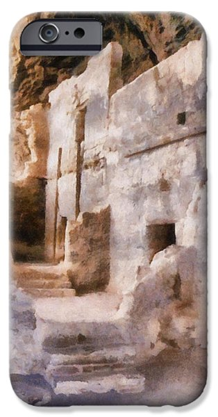 Ruins iPhone Case by Michelle Calkins
