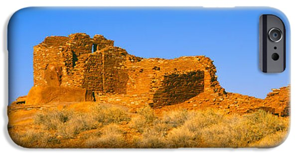 Hopi iPhone Cases - Ruins Of 900 Year Old Hopi Village iPhone Case by Panoramic Images