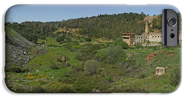 Rural iPhone Cases - Ruins Of Buildings And Mining Effects iPhone Case by Panoramic Images