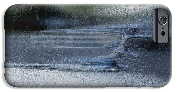 Airbrush iPhone Cases - Running In The Rain iPhone Case by Jack Zulli
