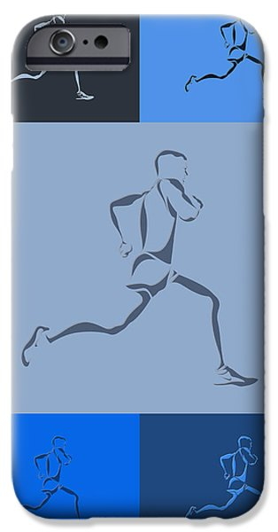 Runner iPhone Cases - Running Runner5 iPhone Case by Joe Hamilton