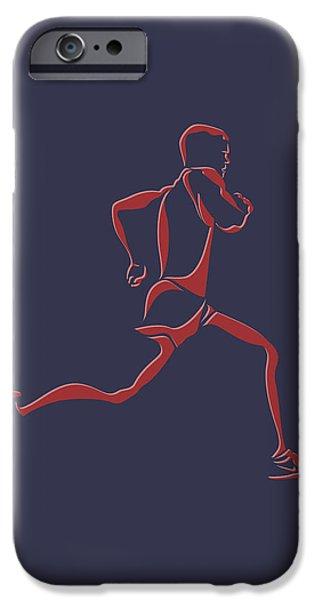 Runner iPhone Cases - Running Runner7 iPhone Case by Joe Hamilton