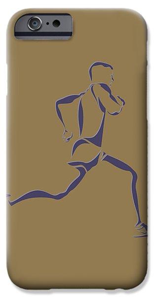 Runner iPhone Cases - Running Runner8 iPhone Case by Joe Hamilton