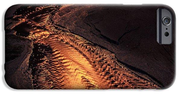 Edgar Laureano Photographs iPhone Cases - Running To The Sea iPhone Case by Edgar Laureano