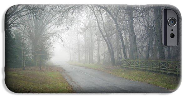 Fog Mist iPhone Cases - Rural Fog iPhone Case by Brian Wallace