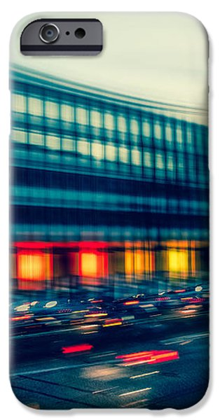 Rush Hour - vintage iPhone Case by Hannes Cmarits