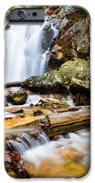 Oak Creek iPhone Cases - Rushing Falls iPhone Case by Parker Cunningham
