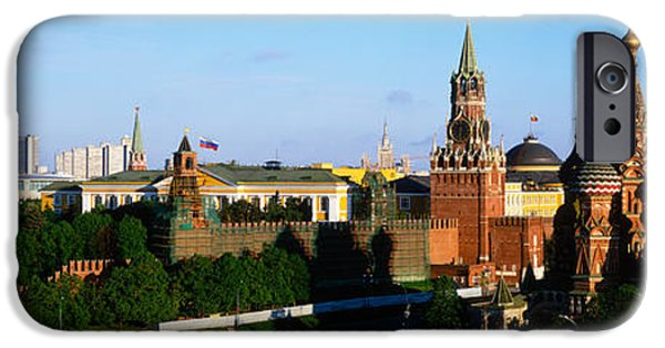 Byzantine iPhone Cases - Russia, Moscow, Red Square iPhone Case by Panoramic Images