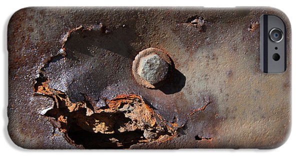 Rust iPhone Cases - Rust 3 iPhone Case by Jessie Swimeley