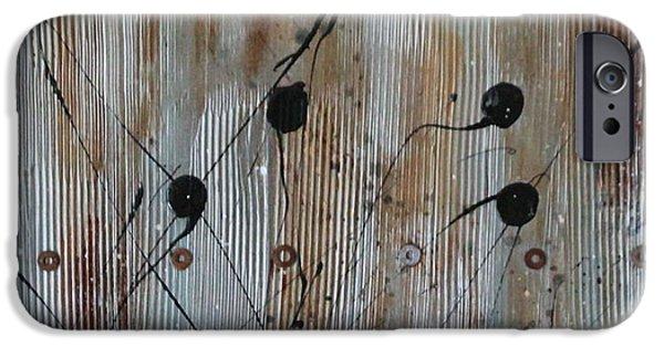 Rust iPhone Cases - Rusted iPhone Case by Lauren Petit