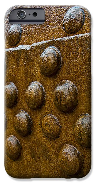 Rusted Whaling Machinery iPhone Case by John Shaw