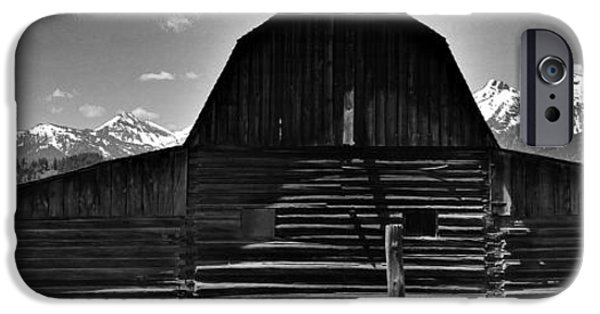 Old Barn iPhone Cases - Rustic Barn iPhone Case by Dan Sproul