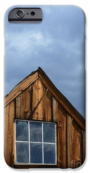 Rustic Cabin Window iPhone Case by Jill Battaglia