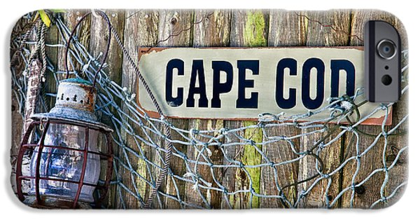 Bouys iPhone Cases - Rustic Cape Cod iPhone Case by Bill  Wakeley