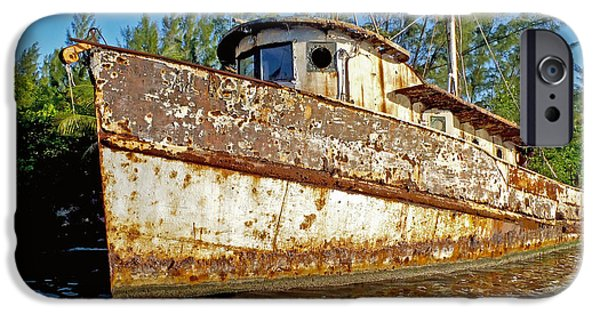 Louisiana Photographs iPhone Cases - Rustic iPhone Case by Carey Chen