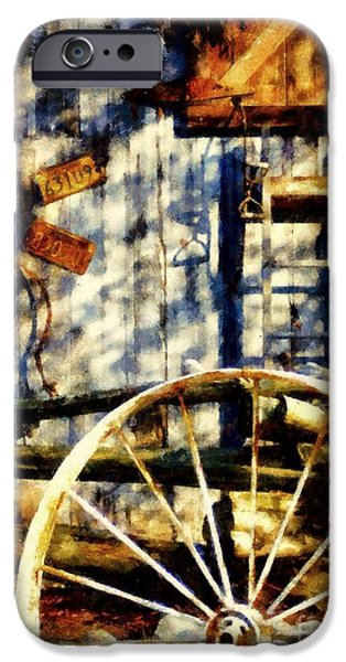 Rustic Decor iPhone Case by Janine Riley