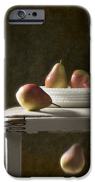 Pears iPhone Cases - Rustic Pears iPhone Case by Amanda And Christopher Elwell