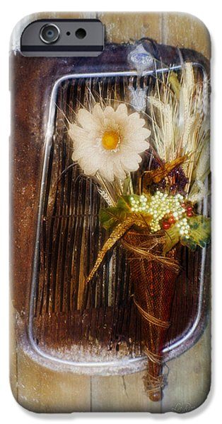 Artistic Photography iPhone Cases - Rustic Romance iPhone Case by La Rae  Roberts