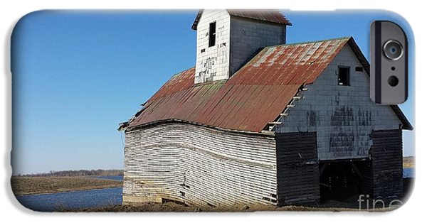 Building iPhone Cases - Rustic Rural Landmark iPhone Case by J Anthony Shuff