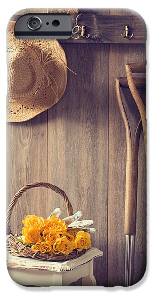 Shed iPhone Cases - Rustic Shed iPhone Case by Amanda And Christopher Elwell