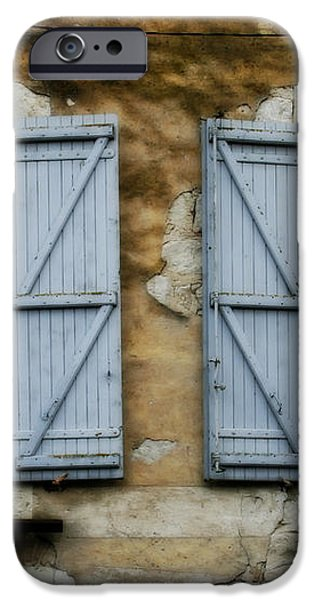 Rustic Wooden Window Shutters iPhone Case by Nomad Art And  Design